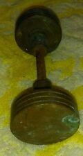 Old Antique Solid Brass Door Knob Set