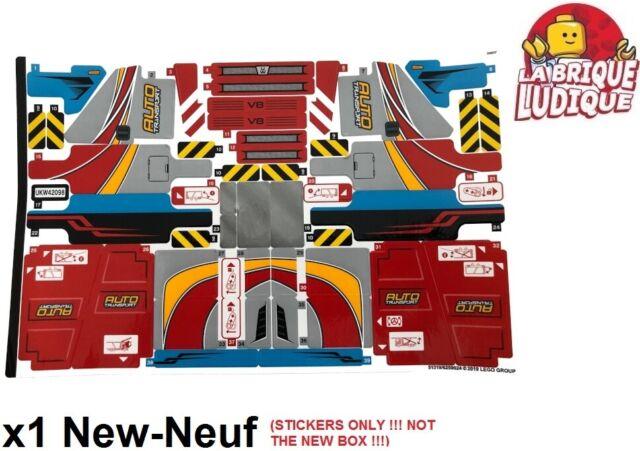 Lego - 1x Pegatina Pegatina Technic 42098 Car Transportar Camión Coche Nuevo