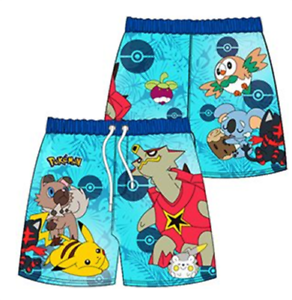 7cfbe5ffb643a Image is loading Boys-Kids-Official-Pokemon-Swim-Swimming-Bermuda-Long-