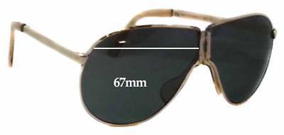 SFX Replacement Sunglass Lenses fits Maui Jim Dorado MJ259 67mm Wide