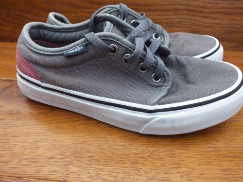Attwood Uk Eu skate zapatos entrenadores tamaño Vans 35 lona gris de 3 de BOdBwxqz