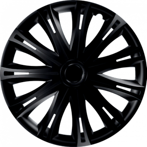 14 Inch Spark Black Car Alloy Wheel Trims Hub Caps Set of 4 RENAULT TRAFFIC VAN 2006-DATE