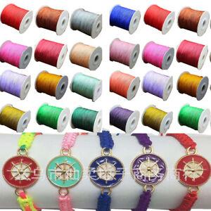 135Yard-0-8MM-Nylon-Cord-Thread-Chinese-Knot-Macrame-Rattail-Bracelet-String