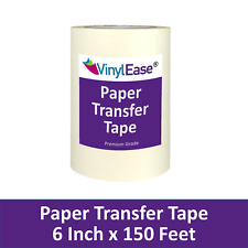 2 Rolls Of 6 In X 150 Ft Roll Paper Application Transfer Tape Sign Craft Vinyl