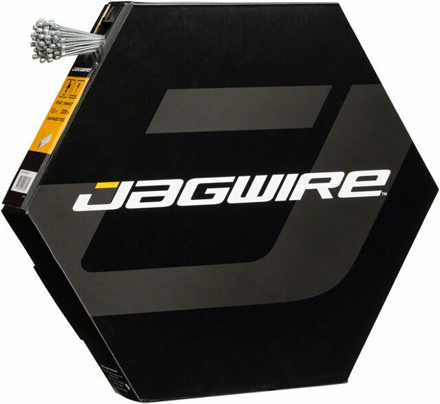 Jagwire Basics Derailleur Cables Galvanized 1.2x2300mm Box 100