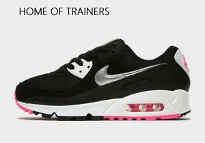 air max 90 preto com rosa