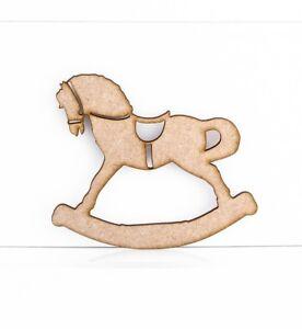 Cavallo A Dondolo Artigianale.Dettagli Su Mdf In Legno Cavallo A Dondolo Artigianale Forme Abbellimenti 3mm Mdf Legno Progetto Mostra Il Titolo Originale