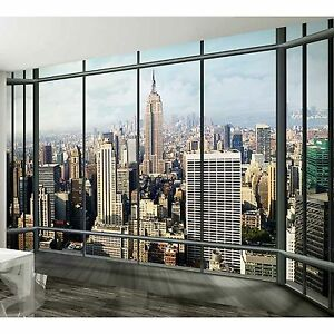 315x232cm giant wall mural photo wallpaper new york city penthouse