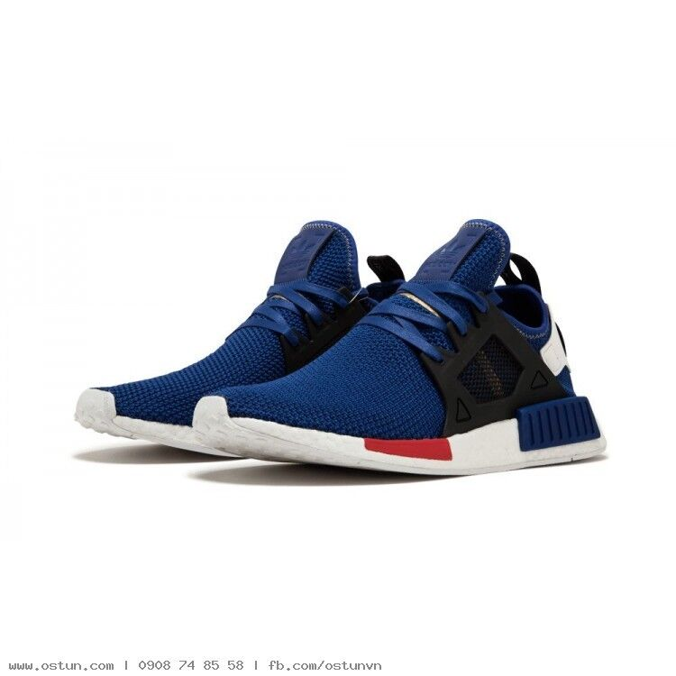 Adidas NMD XR1 Nomad Boost Mystery Blue Vivid Red White Black AC7185 Men 8-13