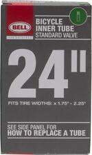 "24"" Bell Bicycle Standard Schrader Valve Black Rubber Inner Tube 7064263"