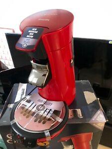 Philips SENSEO Viva Café 1450W Machine à Café à Dosettes - Rouge