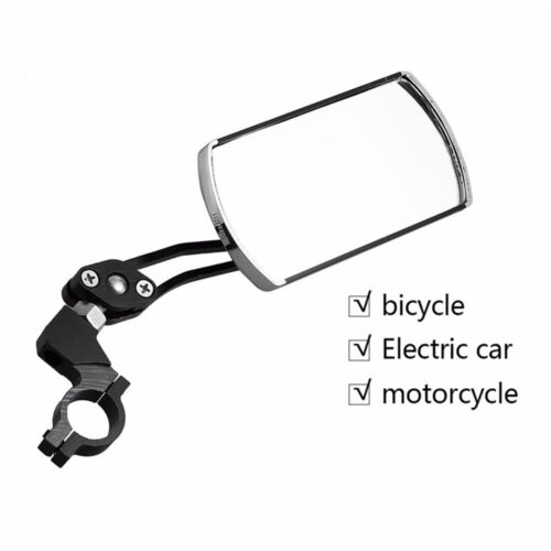 Rotatable Handlebar Rearview Mirror for Bike Bicycle Cycling Rear View Mirror ^^