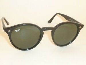 b971f29df026d New RAY BAN Sunglasses Black Frame RB 2180 601 71 Green Lenses 49mm ...
