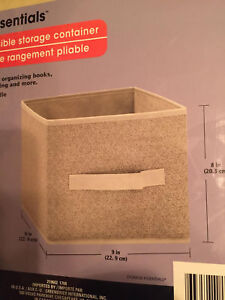 Storage-Fabric-Cube-Foldable-Organizer-Bin-Basket-Office-Drawer-Container-School