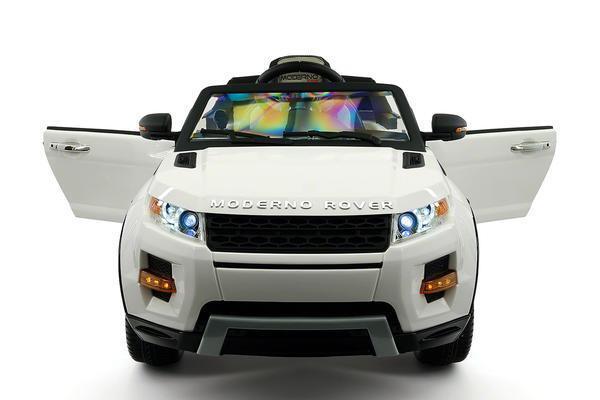 Ride on auto energia Jeep Truck Remote Control RC Luci Musica MP3, 12V Luci giocattolo