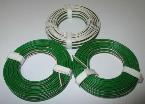 """Drillingslitze  grün-braun-weiss  3x5meter /""""NEU/"""" 0,53€//m"""