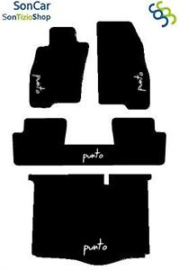 Fiat Grande Punto Teppich-Fußmatten Hintern Vereinigt mit