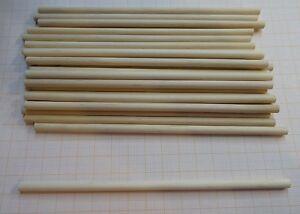 Putzhölzer,5 mm,Länge 15 cm aus White Birch  24 Stück