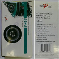 Audiovox Ps-2351 Prestige Power Performance Series Carspeaker 3.5 2-way,