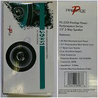 Audiovox Ps-2351 Prestige Power Performance Series Carspeaker 3.5 2-way,