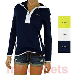 NWT Polo Ralph Lauren WOMENS SPORT HOODIE Sweat Shirt
