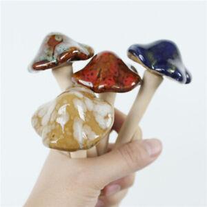 6pcs-Mini-Colorful-Ceramic-Mushroom-Decor-Garden-Ornament-Set-Lawn-Ornaments