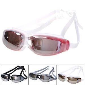 23989201a42 Pro Adult Waterproof Anti-Fog UV Protect Swim Swimming Goggles ...