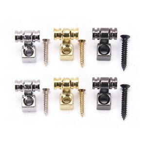 2Pcs-Rouleau-Chaine-De-Fixation-Guide-De-Montage-Pour-Guitare-Electrique-Sil-FE