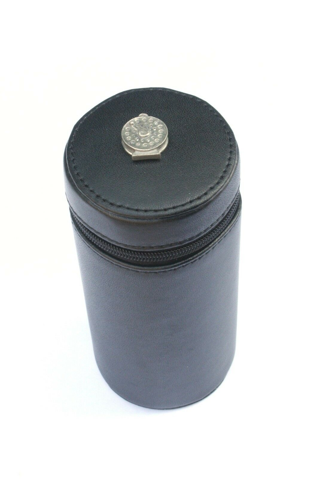 Fly Reel Shooting Peg Position Finder Numberojo Cups 1-10 negro Leather Case