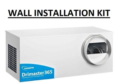 Nuaire drimaster 365 mur kit d/'installation positive d/'entrée de ventilation