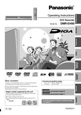 panasonic dmr eh67 eh675 dvd recorder service manual ebay rh ebay com Panasonic DMR- EZ48V Panasonic DMR- EZ48V