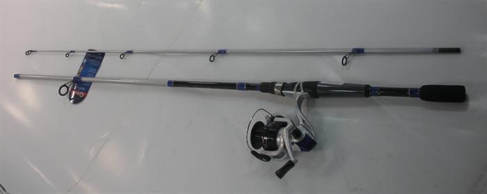 Zebco GENX230662MNS4 198cm Quantistica Genex2 4BB Canna Pesca & Mulinello