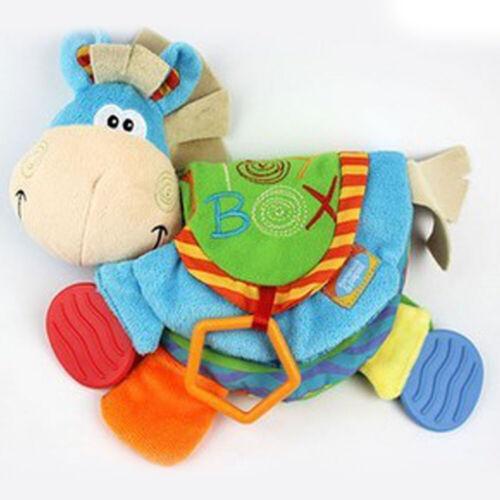 Baby Infant Happy Study Donkey Toys Cloth Book Intelligence Early Education #MN