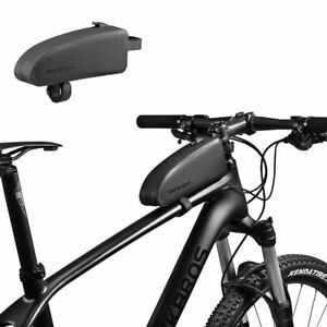 ROCKBROS Waterproof Bike Bag Top Tube Frame Bag Large Capacity Bag Black