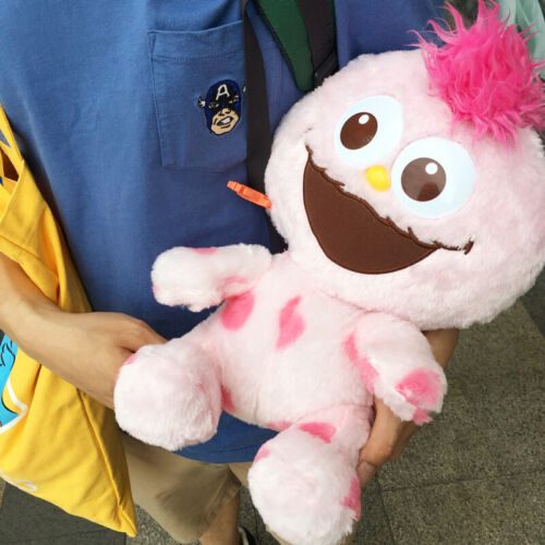 Authentic Universal Studios Sesame Street Pink Moppy 30cm Plush toy