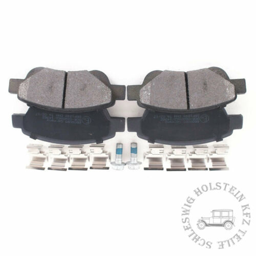 BB.8095 Bremsbelagsatz Vorderachse für CITROËN C1 PM PN C1 II PEUGEOT 107 108