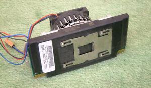 Intel Pentium III 1000 MHz SL4BS 256k L2 slot 1 CPU + dissipateur de chaleur & Fan IBM 22P0639