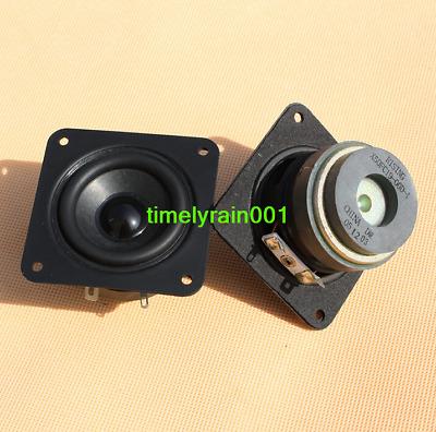 "2pcs 2.5/"" inch full-range speakers Dual Magnetic 4 ohms 6 watts Loudspeaker"