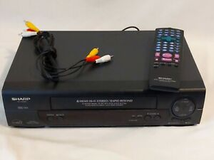 Sharp-VC-H992U-VCR-Player-VHS-With-Remote