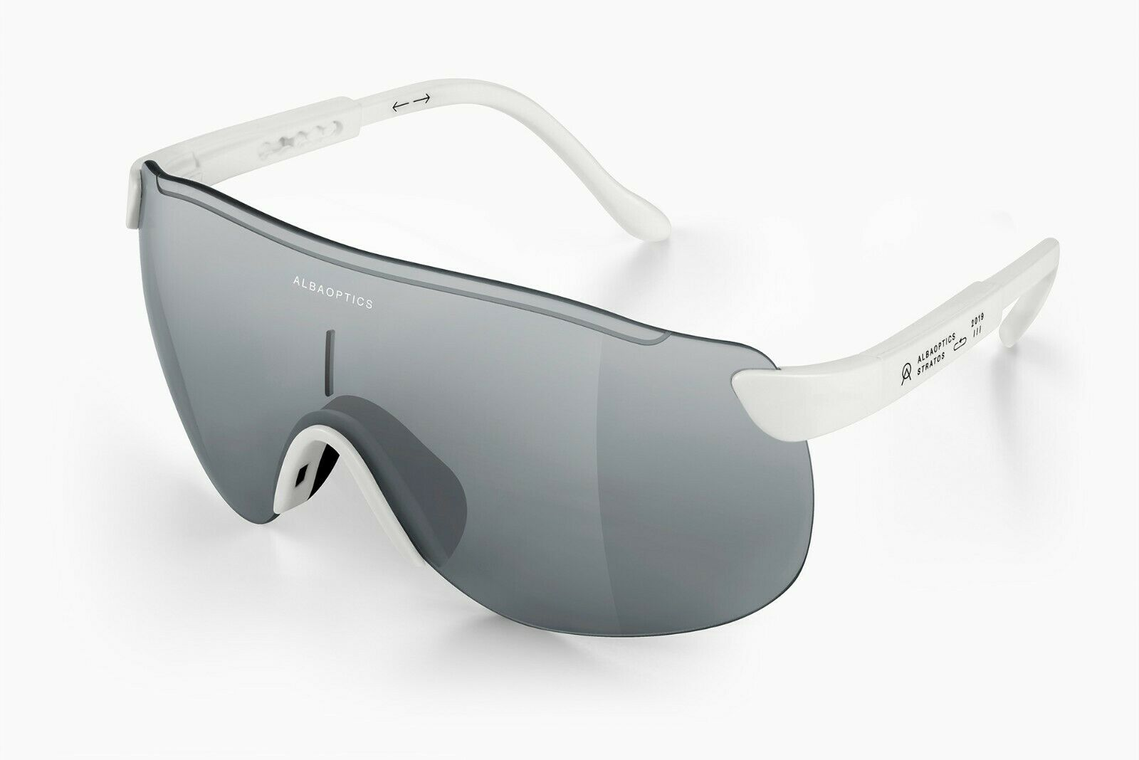 ALBA OPTICS STRATOS WHITE VZUM™ POU ALU Sunglasses