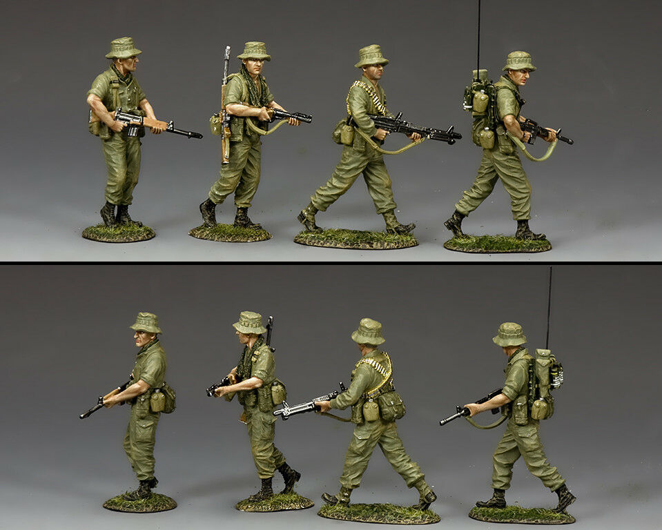 KING & COUNTRY VIETNAM WAR VN030 AUSSIE PATROL SECTION MIB