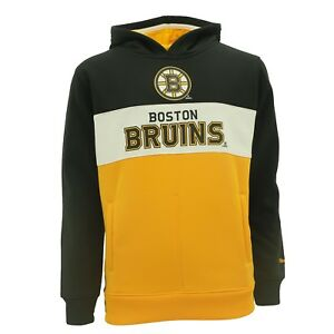 Boston-Bruins-Kids-Youth-Size-Hooded-Sweatshirt-Reebok-Official-NHL-New-With-Tag