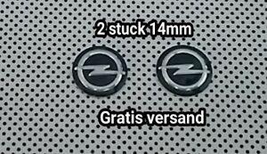 Schluessel-fernbedienung-emblem-logo-aufkleber-key-fob-Opel-14-mm-2-stuck