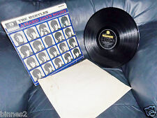 THE BEATLES A HARD DAY'S NIGHT ORIGINAL FIRST ISSUE MONO FROM 1963 YELLOW -BLACK