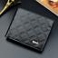 Fashion-Men-039-s-deux-volets-en-cuir-portefeuille-ID-carte-de-credit-Titulaire-Portefeuille-Sac-a miniature 18