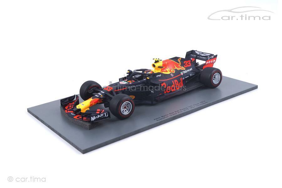 Red Bull Racing-Australian GP 2018-Max Verse Trap-Spark 1 18 - 18s348