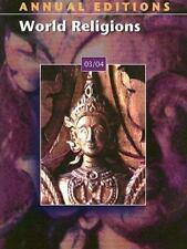 Annual Editions: World Religions Lamb, Ramdas Paperback