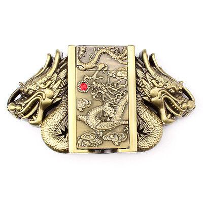 DRGN-04 Vintage Dragon Men/'s Belt Buckle Western Cowboy Native American