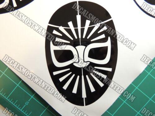 El Mistico Lucha libre Mexican wrestling mask die cut vinyl decal sticker