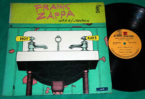 Frank Zappa Waka Jawaka Brazil 1st Press Lp 1973 Black